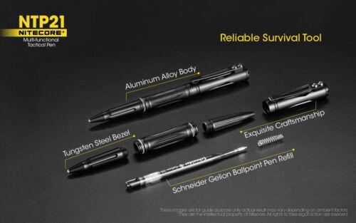 Nitecore NTP21 Multi-fonctionnel Premium TACTICAL PEN