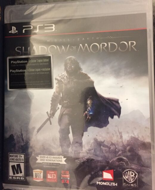 Shadow of Mordor PS3 game