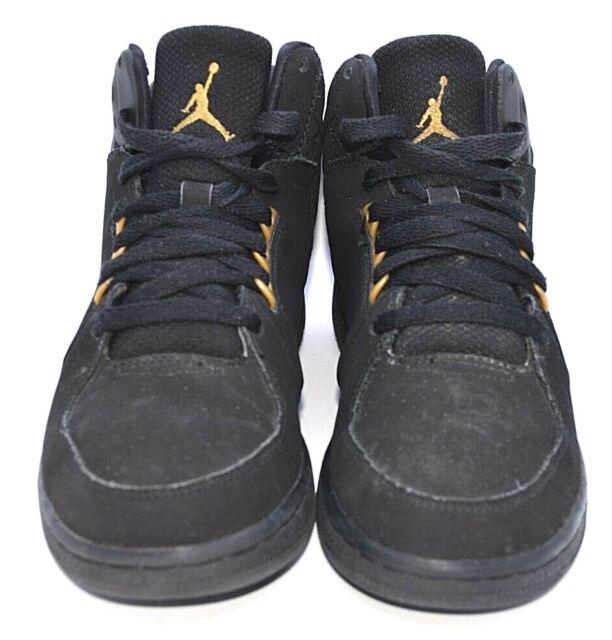 the latest 30471 98001 Nike Air Jordan 1 Flight 3 BG Youth Black Metallic High Top 707320-081 Boys  4Y