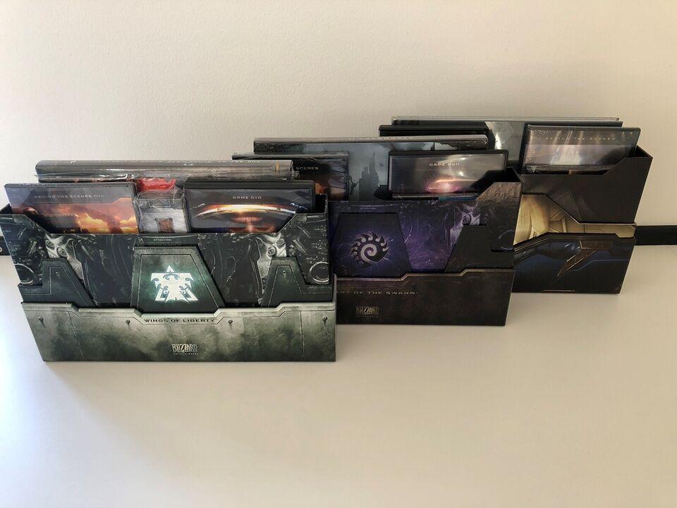 Star Craft 2 - Collectors Editions, til pc, til Mac