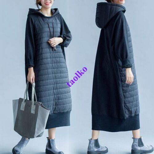 Manteau pour mélangé Vestes Manteaux Manteau longs en Outwear à Taille femmes capuche coton qqR1x4z