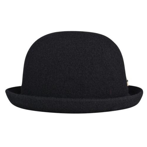 Nouveau 2017 KANGOL laine Bombin Chapeau-Noir