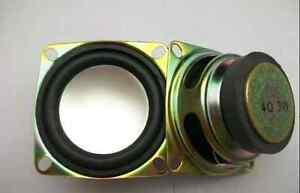 """2pcs 2"""" inch 52mm 4Ohm 4Ω 3W Full Range Audio Speaker Stereo Woofer Loudspeaker"""