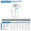 miniatura 3 - Divisa Sanitaria completa in cotone 100% scollo a V per medico infermiere oss