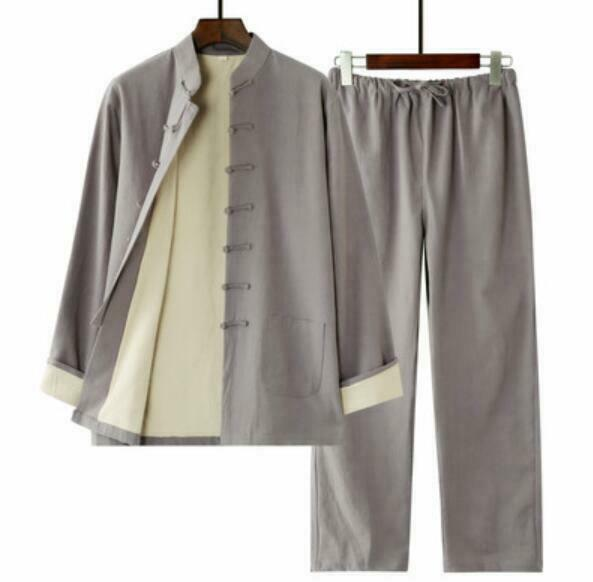 Gemütlich Herrenmode Anzug Volltonfarbe Volltonfarbe Volltonfarbe Hemd Gerazies Bein HosenBaumwollmischung | Heißer Verkauf  74f7de