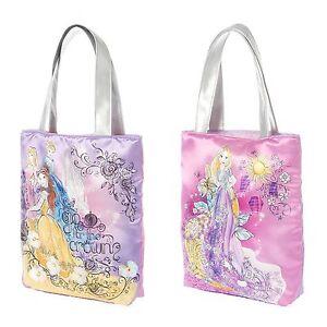 Disney Princess Tote Bag Purse Sketch Drawings Cinderella Belle Sleeping Beauty