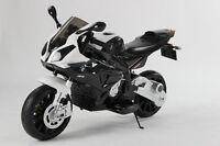 Licensed Bmw Motorbike S1000rr Kids Ride On 12v Battery Motor Bike Black 2015