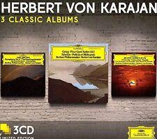 Herbert von Karajan - Three Classic Albums (Sibelius/Grieg/Neilsen) [New CD] Ltd