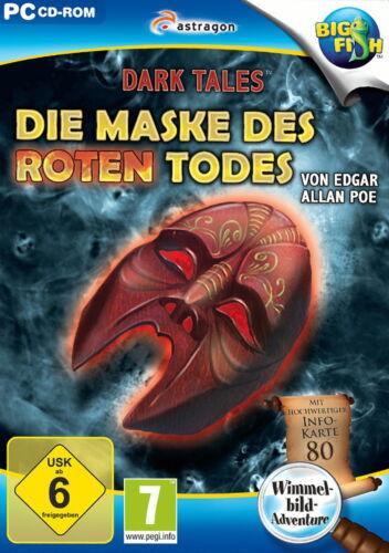 1 von 1 - Dark Tales: Die Maske des roten Todes von Edgar Allan Poe (PC, 2014, DVD-Box)