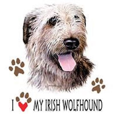 Irish Wolfhound Love T Shirt Pick Your Size Youth Medium to 6 X Large