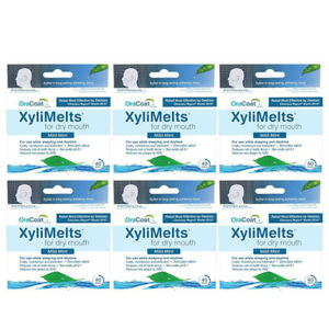 6-Pack-OraCoat-XyliMelts-Mild-Mint-for-Dry-Mouth-40-Discs-Each