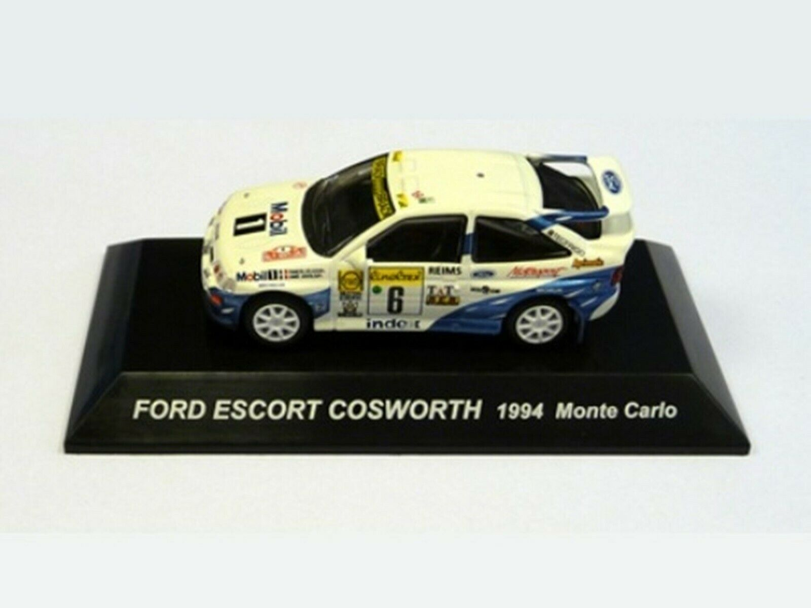 WOW EXTREMELY RARE Ford Escort RS Cosworth 1994 M.Carlo WRC 1 64 CM's Kyosho