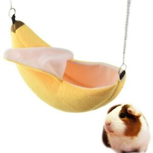 Banana-Hamster-House-Bed-Small-Animal-Warm-Cage-Nest-Hamster-Accessories