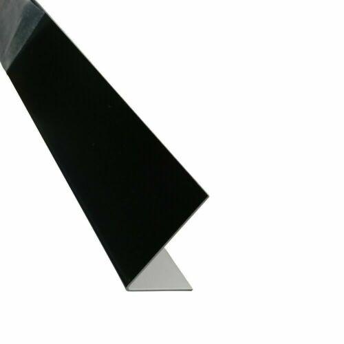 Alu Winkel RAL 9005 Schwarz Winkel 1mm Eckschutz Winkelblech  bis 3m Eckprofil