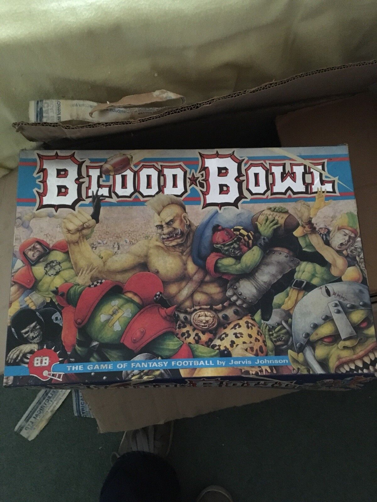 Blood Bowl Game Game Game Polystyrene Pitch d703ff