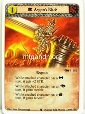 A Game of Thrones LCG - 1x Aegon's Blade  #T102 - Westeros Draft Pack