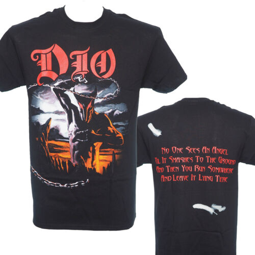 New M L XL HOLY DIVER Heavy Metal DIO Official Licensed T-Shirt