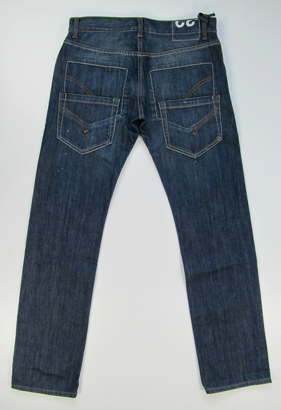 Dondup Hose Hose Hose Denim Jeans Hose UP172 Pantalone Cloid Blau Neu | Verpackungsvielfalt  | Attraktives Aussehen  348ea0