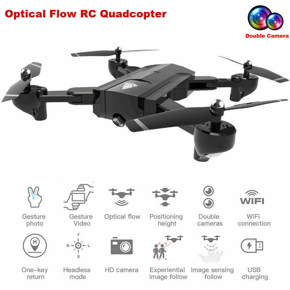SG900 2.4G 1080P HD Camera Foldable Quadcopter WIFI FPV GPS Fixed Point Drone !!