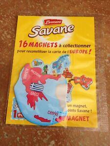 Carte Europe Brossard.Details Sur Magnet Carte Europe Savane Brossard Grece