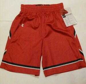 ST-Johns-Womens-Under-Armour-Basketball-Shorts-Size-Small