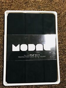 new arrival 074c7 339f1 Details about Modal Protective Reversible Folio Case for iPad Air 2 Black  MD-PD6SC2B New
