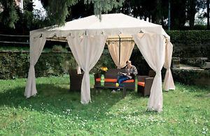 gazebo-Armonia-cm-300x400x260h-3x4-mt-top-ecru-arredo-esterno-giardino