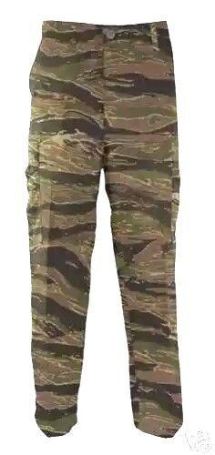 Fougueux Pantalon Bdu Tiger Stripes 6 Pockets Cargo S, M, L, Xl, 2x, 3x La RéPutation D'Abord
