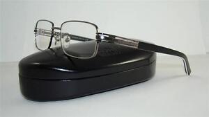 cd07dc62a4f Mont Blanc MB 384 012 Gunmetal & Black Glasses Frames Eyeglasses ...
