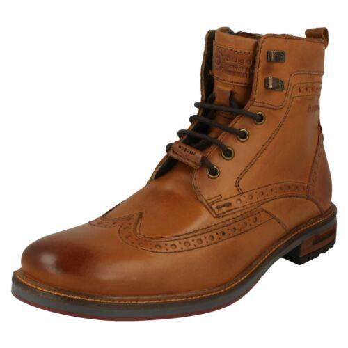 Mens Bugatti Brogue Style Boots /'37737/'