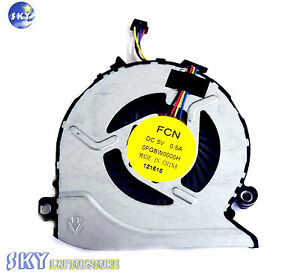 Original New For HP 17-G100 17-G101DX 17-G179NB 17-G053US Cooling Fan 812109-001