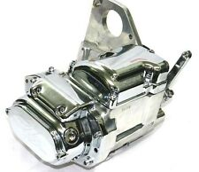 Revtech Polished & Chrome 6-Speed Transmission Trans Evolution Harley Softail