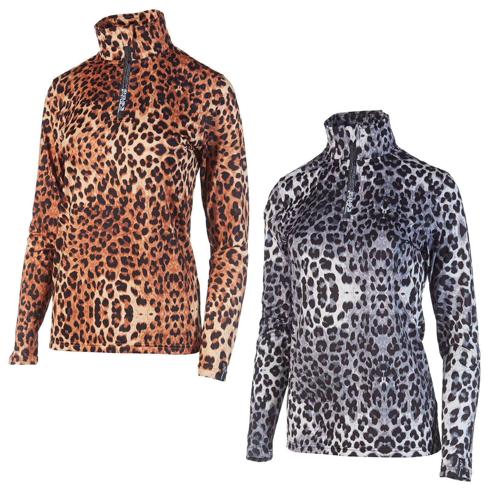 REHALL Florence-R printed  Ski Fleece Ladies Ski Sweater Mid Layer Long Sleeve Shirt  discounts and more