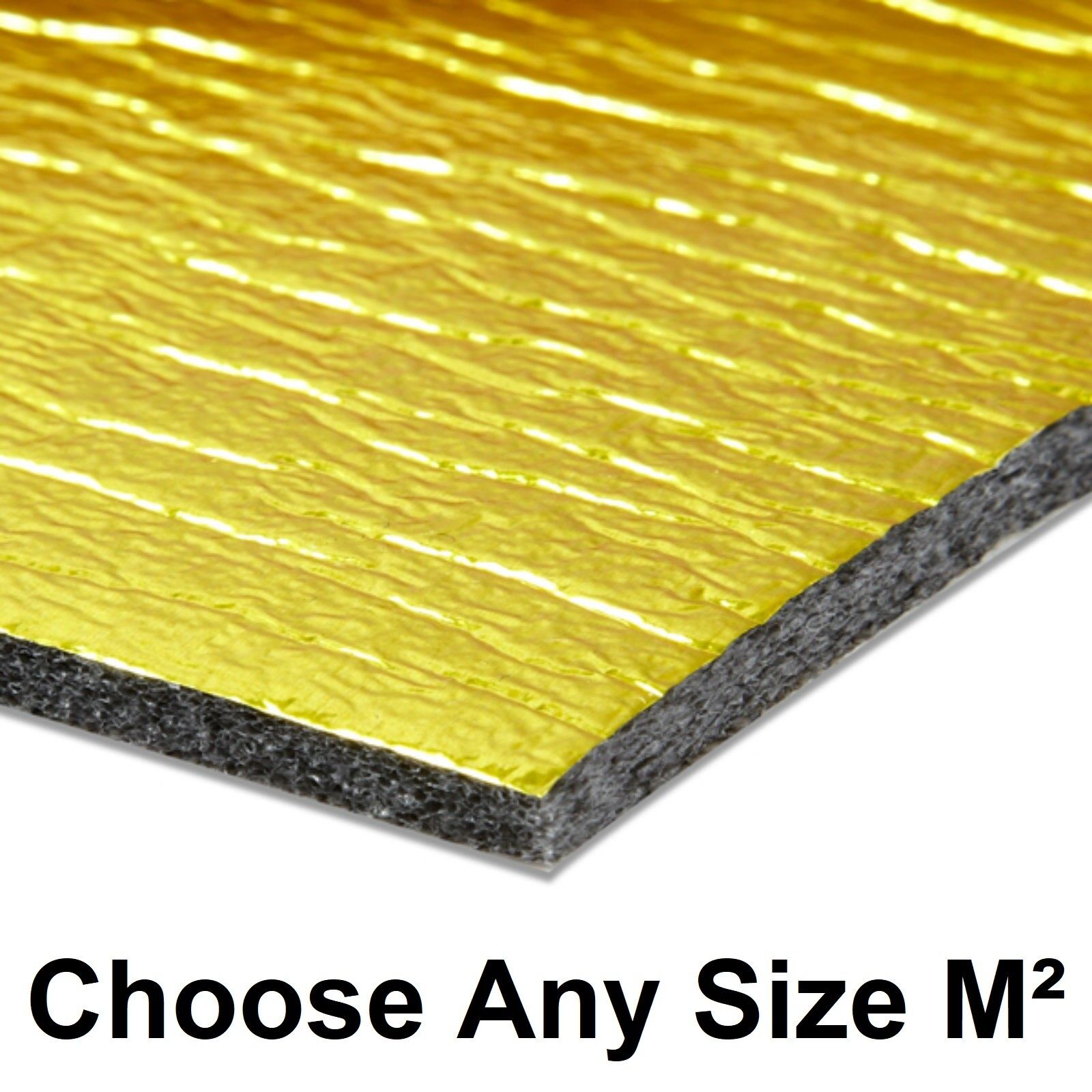 Royale Sonic 15m2 Gold 5mm Laminate Or, 5mm Underlay For Laminate Flooring