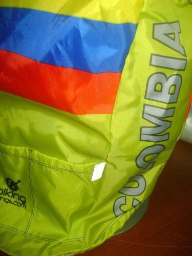 COLOMBIA BIKE JACKET CAFE DE COL BIKE WINDPROOF L COOL COLUMBIA NEON COLOR SAFET