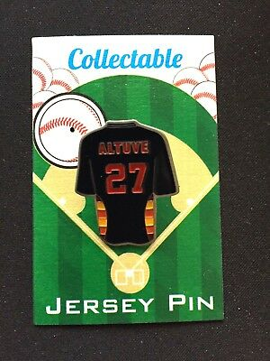 Sport #1 Collectable-mvp Perfekte Verarbeitung Fanartikel Herrlich Houston Astros Jose Altuve Revers Pin-world Serie Meister