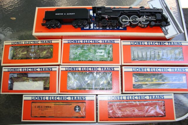 Lionel 6-8606 Boston & Albany 4-6-4 Hudson #784 PLUS 8 Freight Cars Complete Set