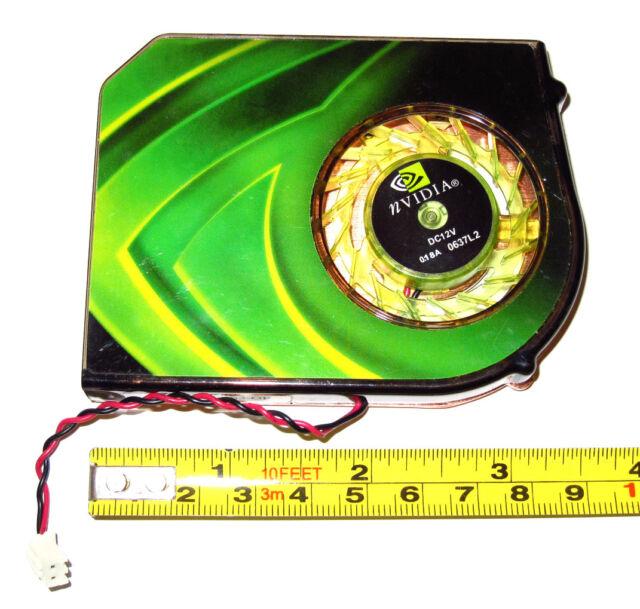 NEW! EVGA GeForce 9500 GT Video Graphics Card Active Cooling Fan VGA GPU Cooler
