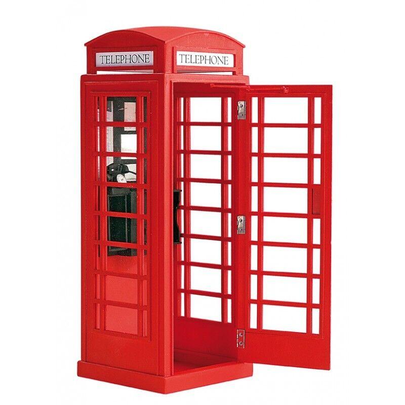 Artesania Latina London Red Phone Box 1 10 Scale Model Model Model Kit 1d13ec