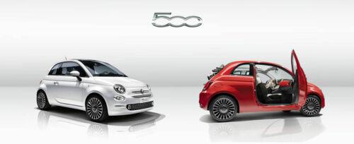 ilTappetoAuto® COLOR0000036A tappetini Fiat e Abarth 500 dal 2007