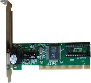 PCI-Realtek-RTL8139D-10-100M-10-100Mbps-RJ45-Ethernet-Network-Lan-Card-Adapter