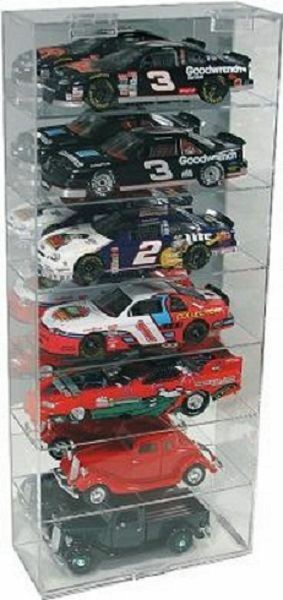 Acrylic Diecast Model Car Display Case 1 24 Holds 7 greenical New in Box Made USA