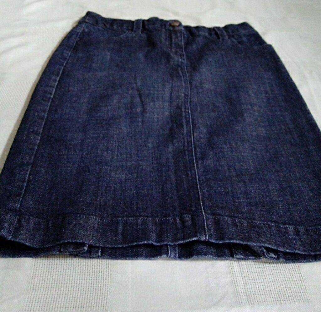 J crew jean kjol med stretch midja max 30 Len 20