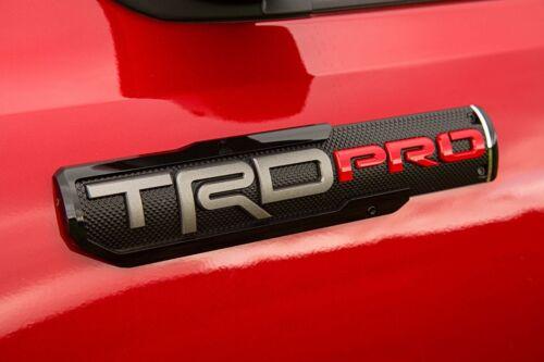 NEW OEM 2016-2018 Toyota Tacoma TRD PRO Badges Emblems FREE PRIORITY SHIP PAIR