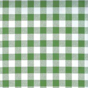 Wachstuch Tischdecke Meterware Karo grün 5-3 abwaschbar eckig rund oval
