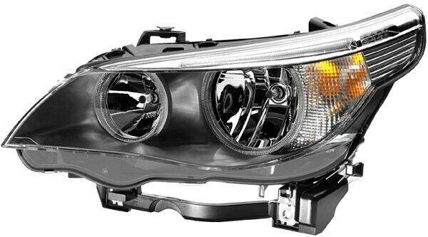 Hella Left Headlight BMW 5 Series E60 6910779