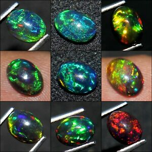 8.5x10.5x6.5 MM Size Code BS1740 2.75 Carat Natural Ethiopian Welo Fire Opal Cabochon Gemstone For Making Jewelry