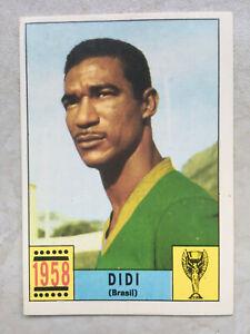 Panini WM Mexico 70 World Cup 1970 Rare unused cards 100% Original International