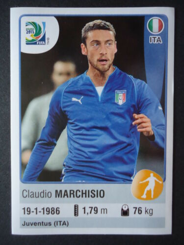 Panini 126 Claudio Marchisio Italien Confed Cup 2013 Brasilien