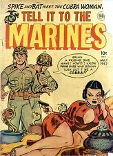 144 War Comics #4 of 5.Fighting Marines.Frogman.Navy.Military.Submarine.on Disk